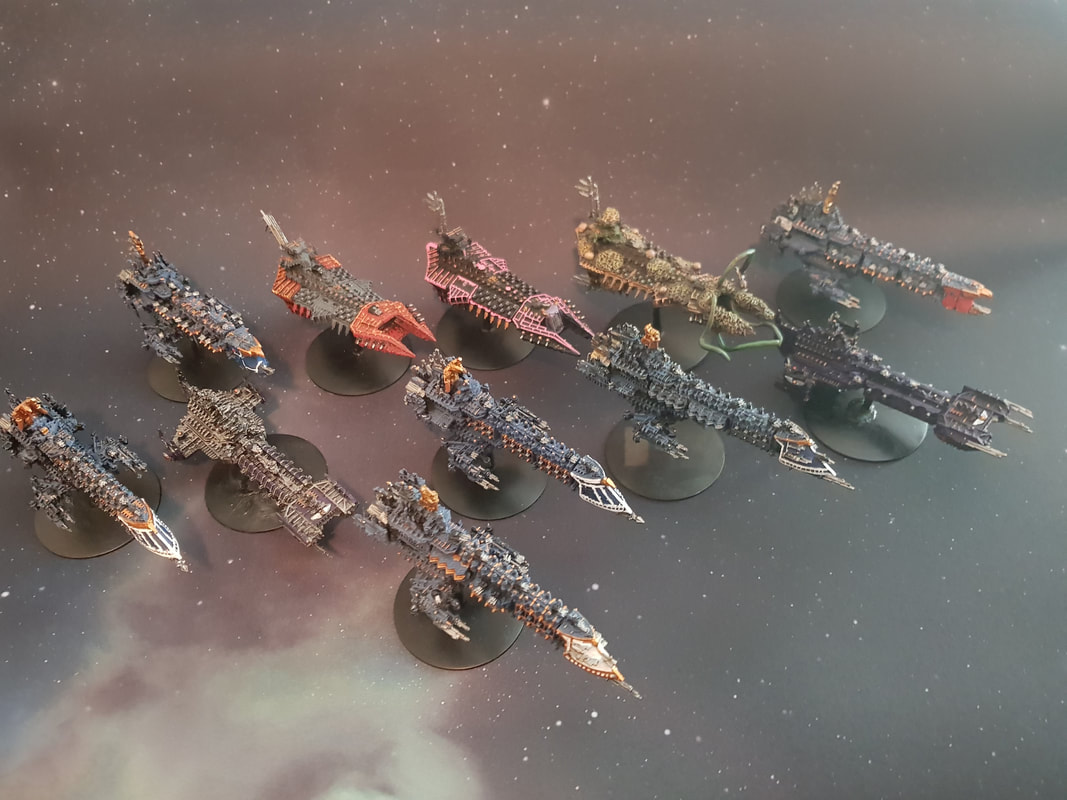 Battle Fleet Gothic Imperial Navy Battleship Prows